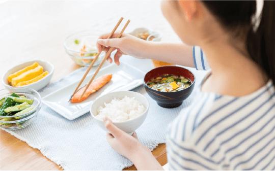 「食」の分野で新しい健康のあり方を研究・提案する通信販売事業
